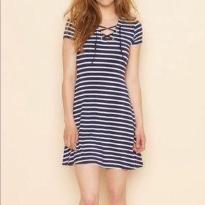 Garage Striped Dress